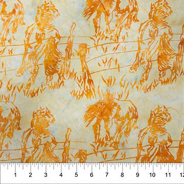 Northcott 80242-35 - Batik Horses