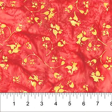 Kilts & Quilts Crimson yellow