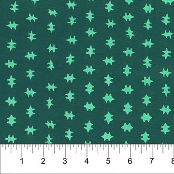 JUNGLE ROSE - BATIK -  SEA GREEN 80413 69