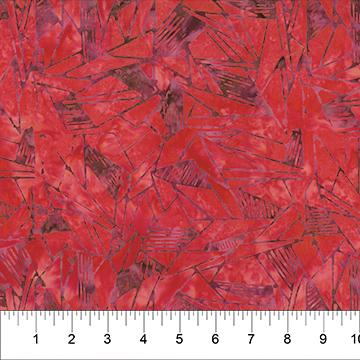 BB- Tilework Red Mauve Batik