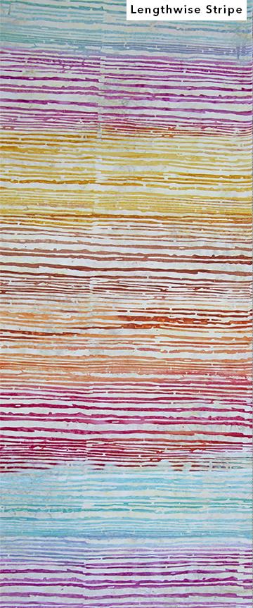 80536-25 - CARNIVALE PINKTEAL STRIPE