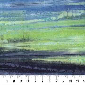 Color Me Banyan-Watercolor, Denim Green, 80550-73