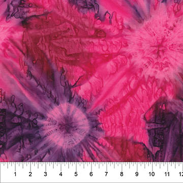 Northcott Color Me Banyan Fucshia Purple