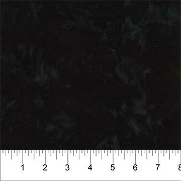 Rayon Batik - Black