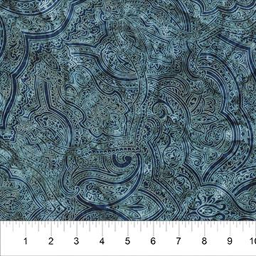 Love to Wear ocean blue rayon batik
