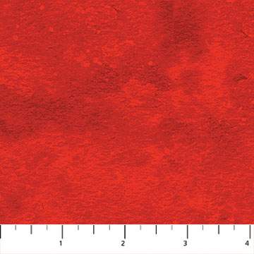 Toscana - Bright Red Fat Quarter Toscana Collection by Northcott