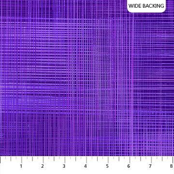 NORTHCOTT - DREAM WEAVER WIDE BACK - GRAPE EXPECT B23001-88