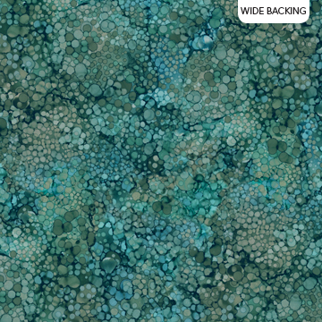 Rain Drops Teal 108 - Whispering Pines by Northcott