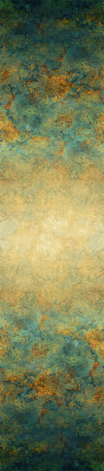 108 Stonehenge Gradations -Teal Copper