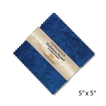 Stonehenge Gradations Brights Flannel Precuts - Single Colorway CSTONF42-62