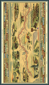 Northcott Pony Express DP21826-34