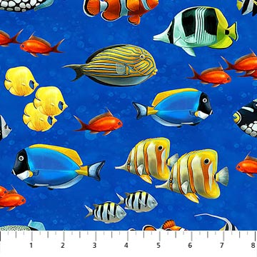Northcott Coral Reef - Single Colorway DP22080-44