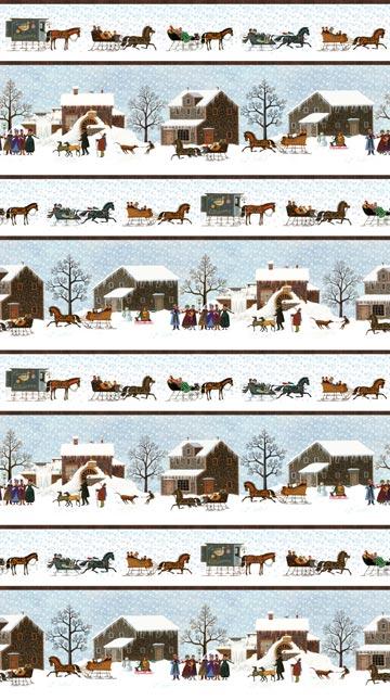 Winter Village - Single Colorway DP22377-41