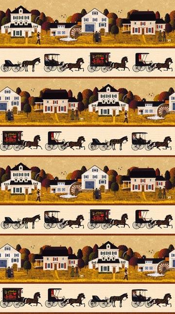 Autumn Village - Single Colorway DP22384-12