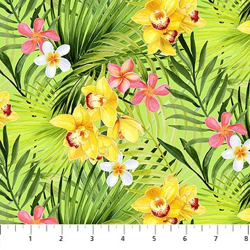 Island Sun -Tropical Flowers 72