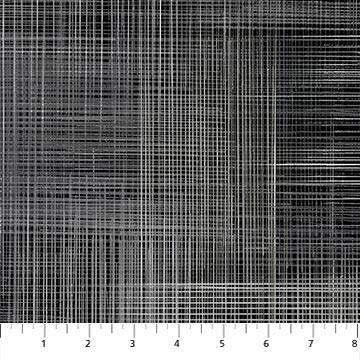 Northcott Dream Weaver 108 Wide Back - Black (1m Remnant)