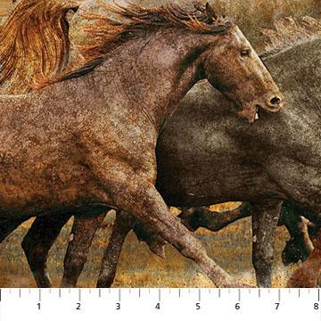 Wild Horses Rust Multi