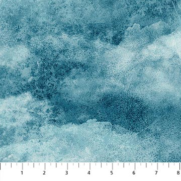 108 Stonehenge Cloudy Sky Wideback - Blue