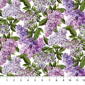 Chelsea Lilacs White Multi -- DP23058-10