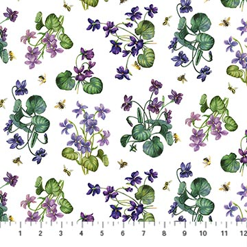 Chelsea African Violet White Multi -- DP23059-10