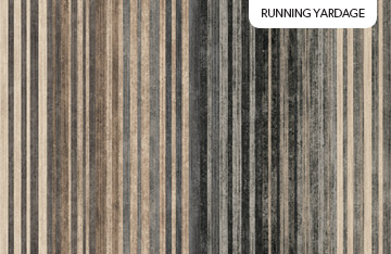 Mountain Vista - Charcoal Stripe