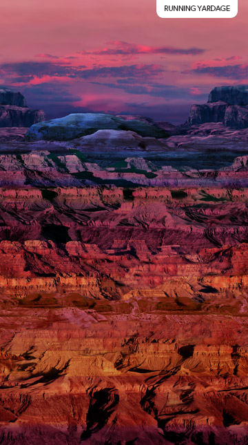 The View from Here 2 Canyon Ombre