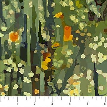 FANTASY FOREST OLIVE MULTI