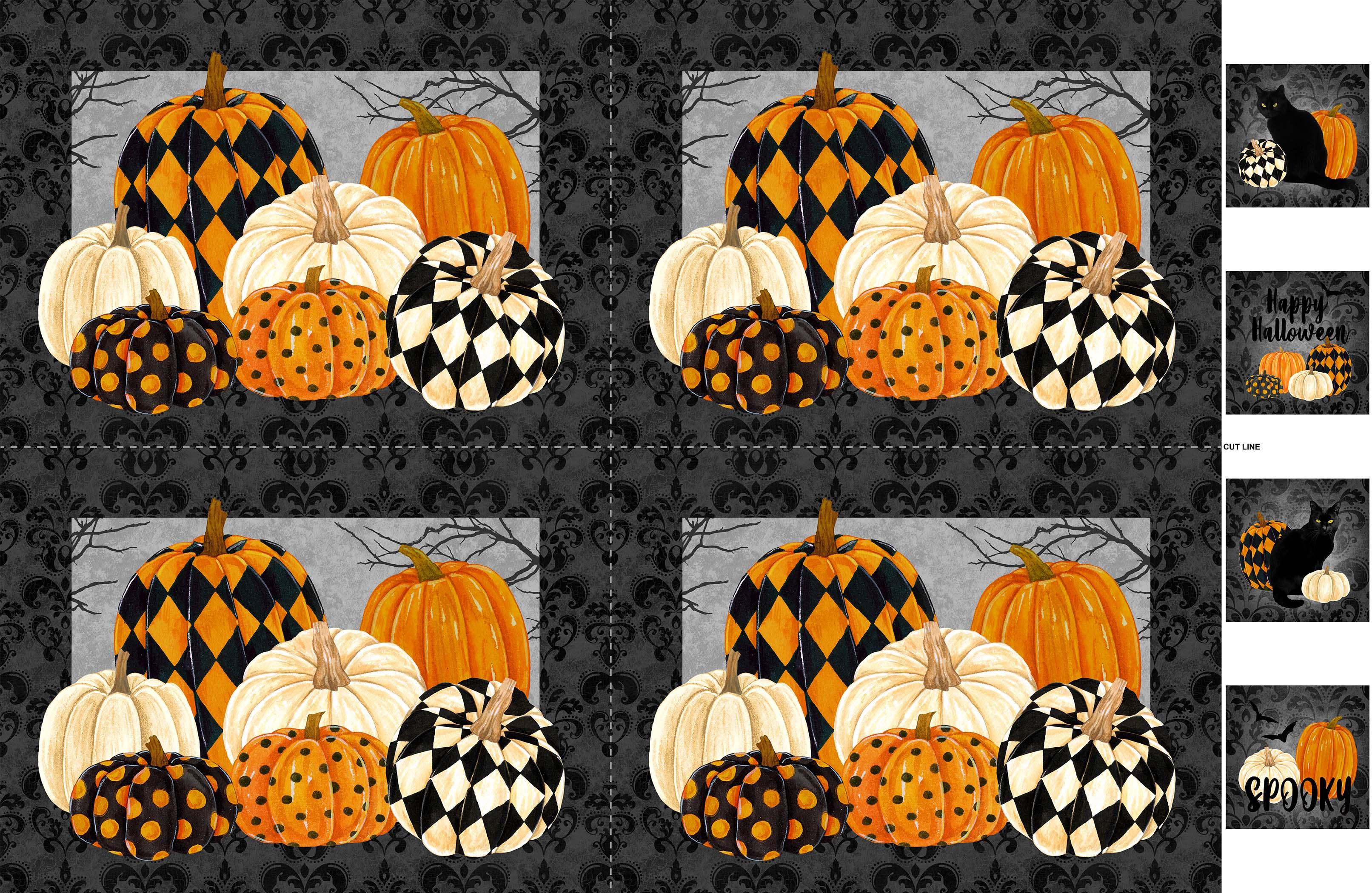 BLACK CAT CAPERS DP24127 99 (2 placemats)
