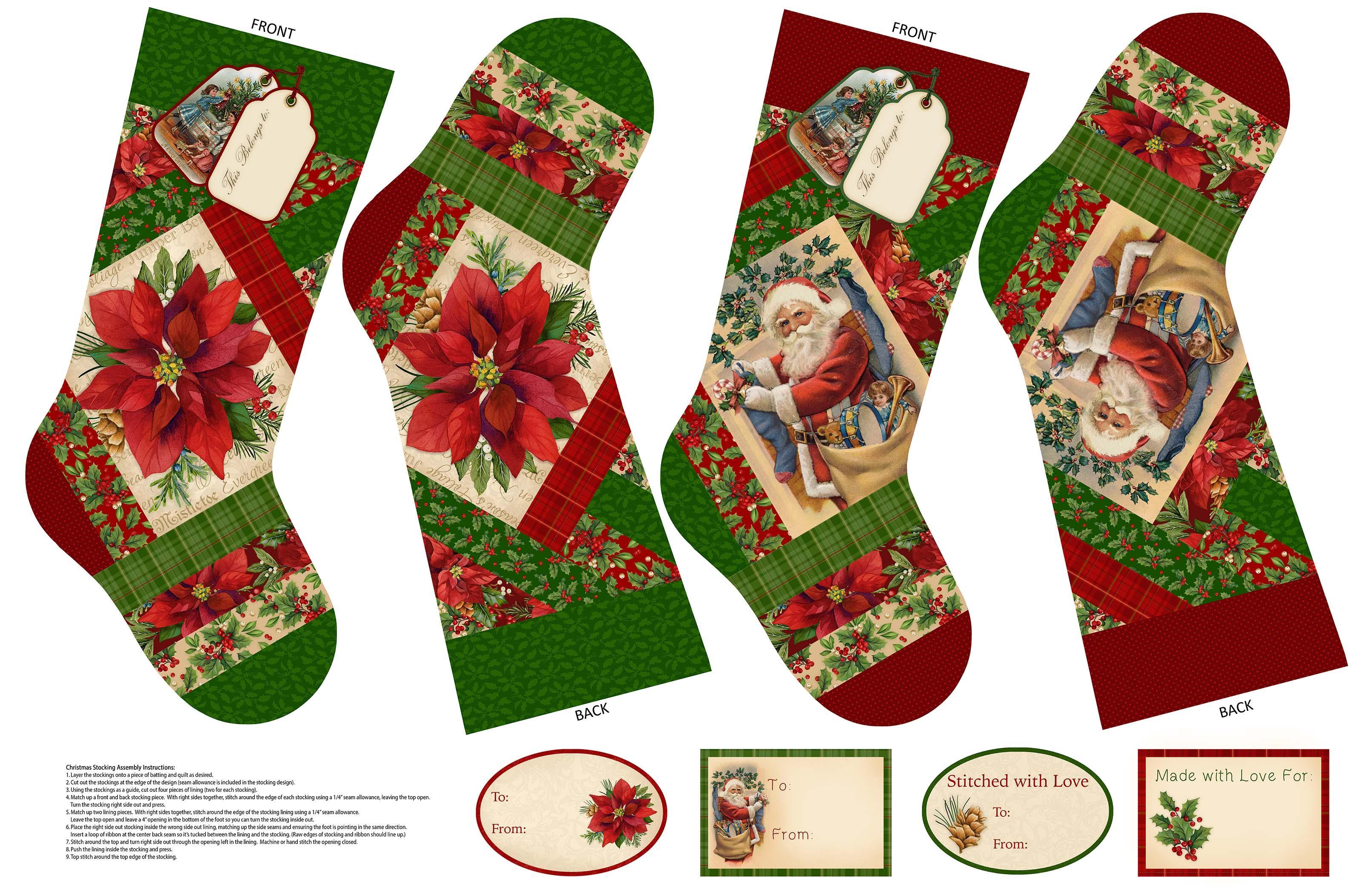 Old Time Christmas 29 X 44
