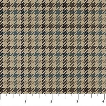 Savile Row - Brown Tweed F21326-36