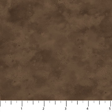 MISTY MOUNTAIN Shadow Flannel Texture BROWN