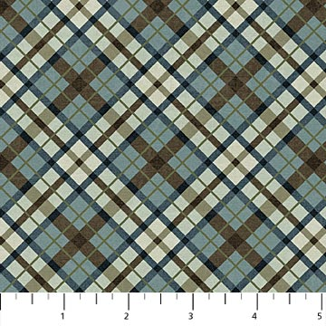 OUTDOOR ADVENTURE -  WEDGWOOD Plaid