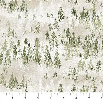 Lakeside Lodge - Open Trees - Pale Gray/Green
