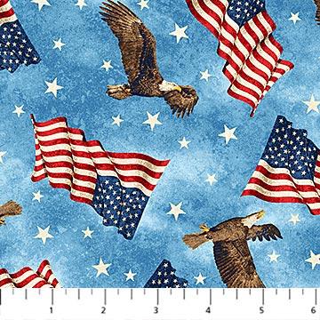Stars & Stripe Flannel - F39385-44