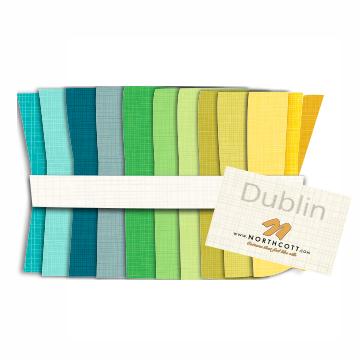 Dublin by Northcott - 40 piece Jelly Roll