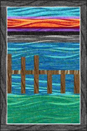 Down By the Dock in the Bay36x54