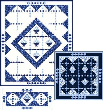 Porcelain Blue - Single Colorway PTN1539-10
