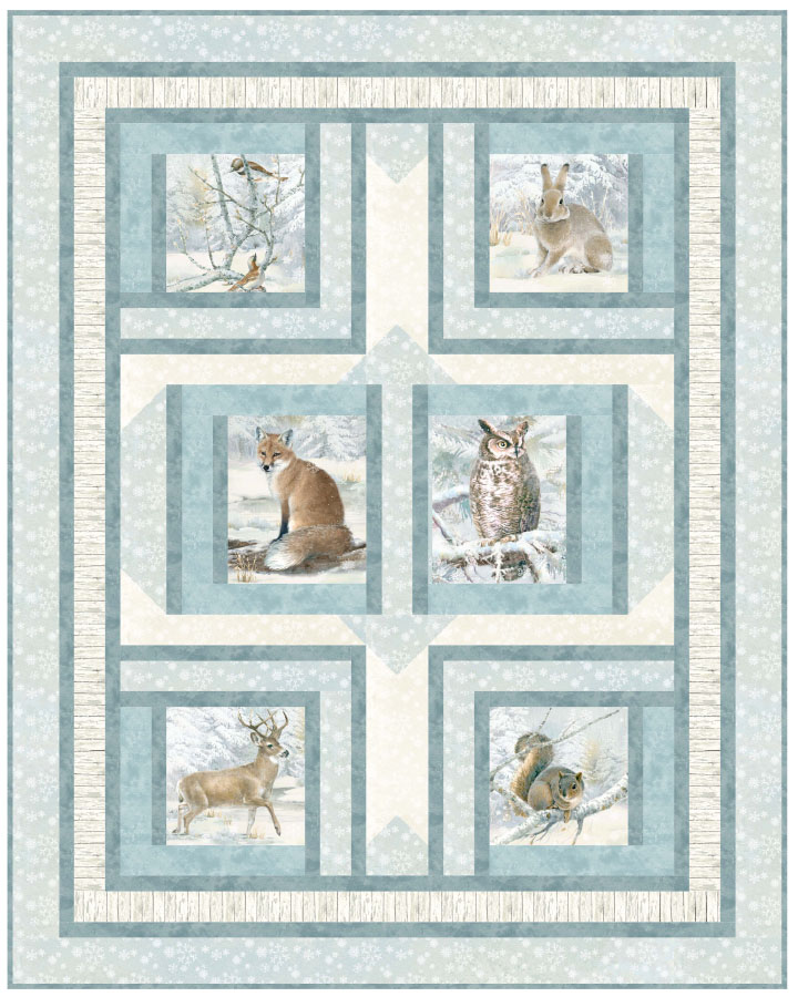 Enchanted Forest - Enchanted Windows Pattern