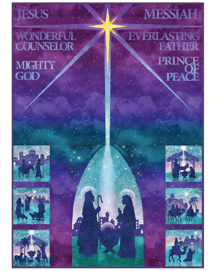 Stonehenge Joy to the World - Single Colorway PTN2272-10