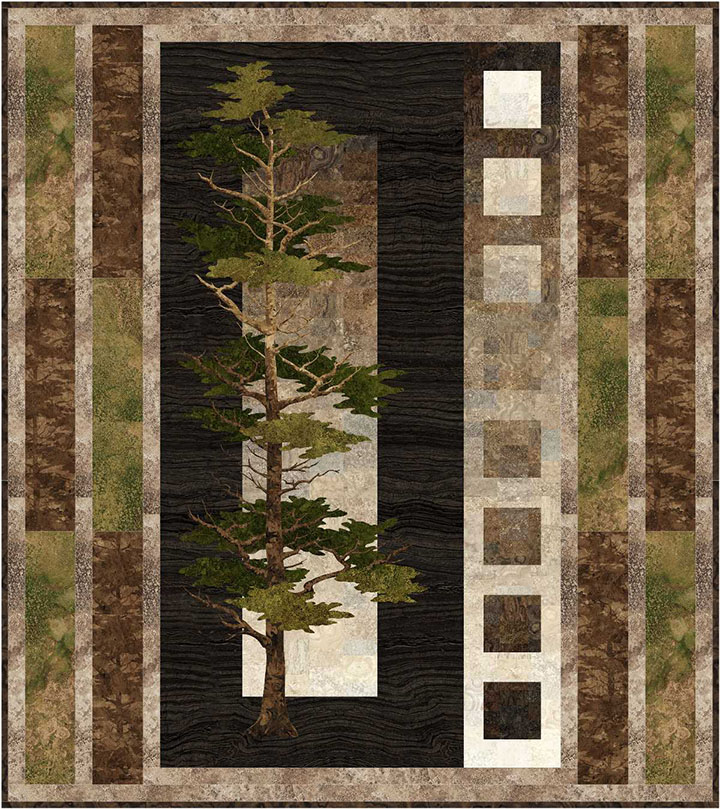 Majestic Pines Wallhanging