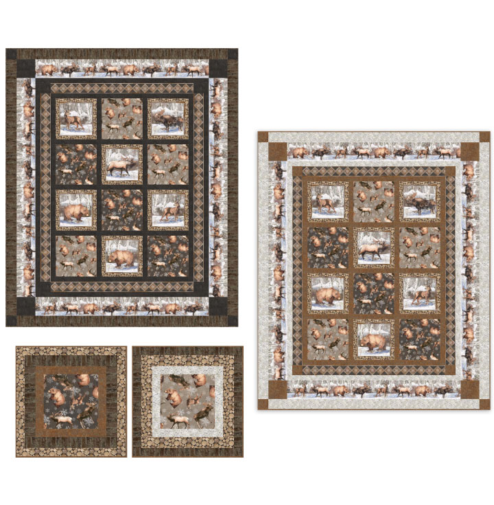 High Country Quilt Fabric Kit