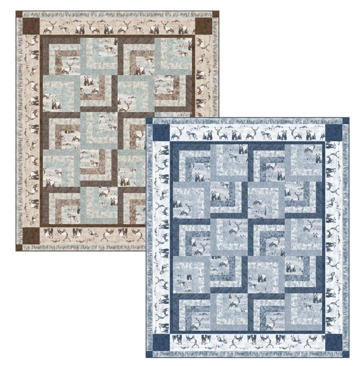 Hidden Boxes Quilt Pattern -- PTN2512