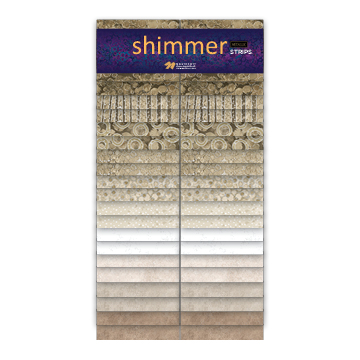 NC Shimmer Sand Strips