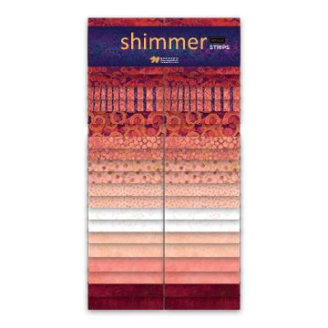 Shimmer Strip Pack - Coral Reef