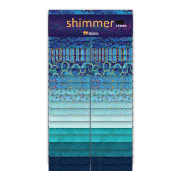 Artisan Spirit -SHIMMER DEEP BLUE SEA -2-1/2 strip