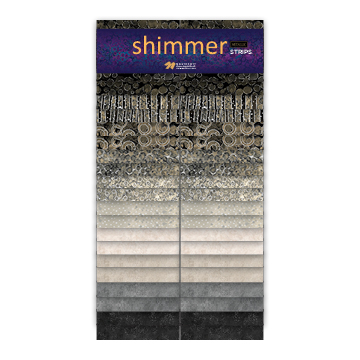 JELLY ROLL - SHIMMER BLACK EARTH