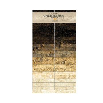 Northcott-Stonehenge-Gradations Strips   SSTONE40-99 Onyx