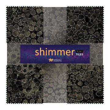 NC Shimmer Black Earth Layer Cake