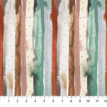 Desert Wilderness Texture Stripe Green