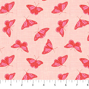 Glasshouse Butterflies by Emily Taylor for FIGO Fabrics